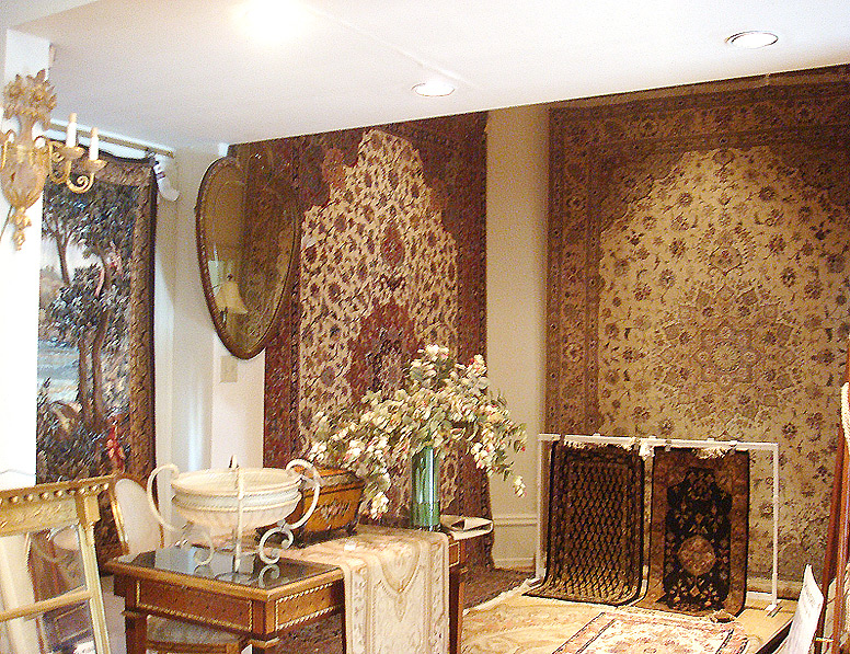 New and antique oriental rugs